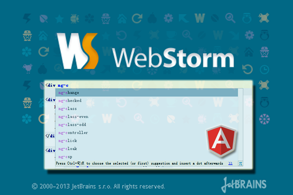 alt AngularJS最理想开发工具WebStorm