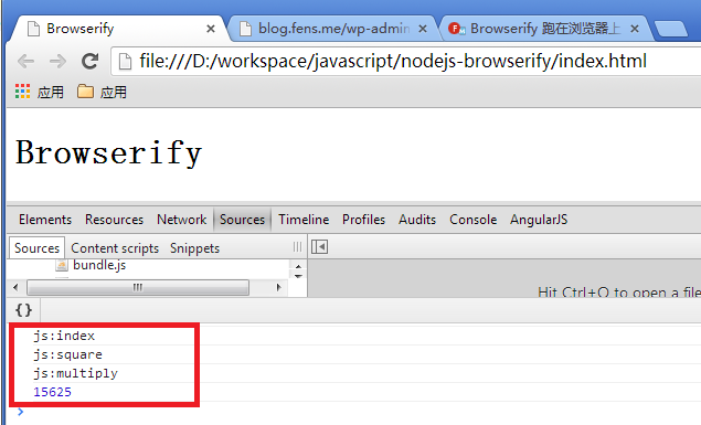 browserify-console